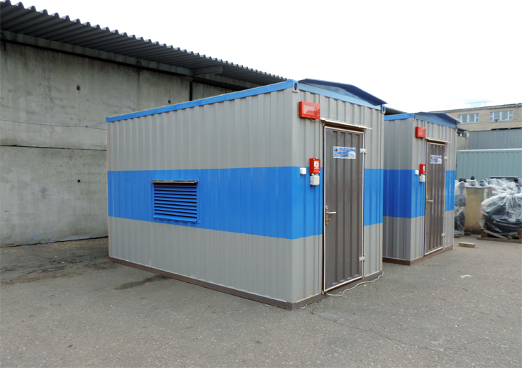 Дизельная электростанция в контейнере Газпром Трансгаз Беларусь